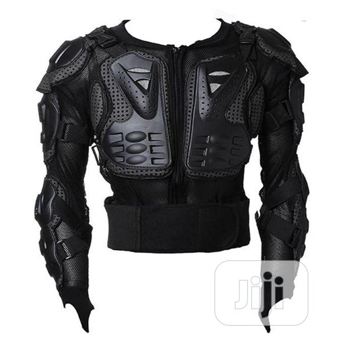 Motorcycle Full Body Protective Armor Jacket Spine Chest Sho