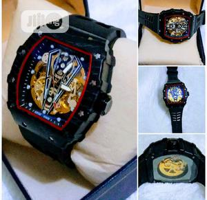 Richard Mille Men's Black Wristwatch | Watches for sale in Lagos State, Surulere