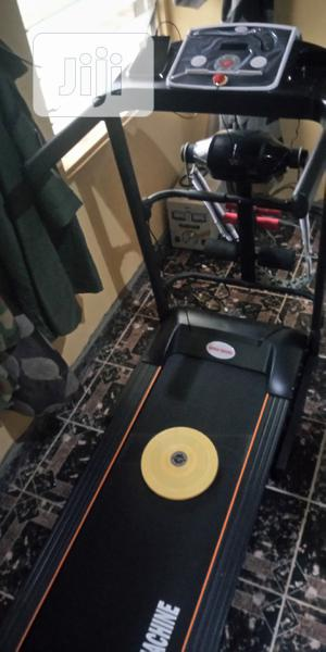 2hp German Machine Treadmill With Massager and Dumbbell   Sports Equipment for sale in Lagos State, Surulere