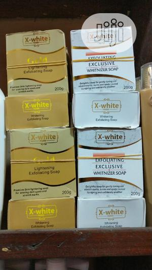 X White Whitening Exfoliating Carrot Soap   Bath & Body for sale in Lagos State, Amuwo-Odofin