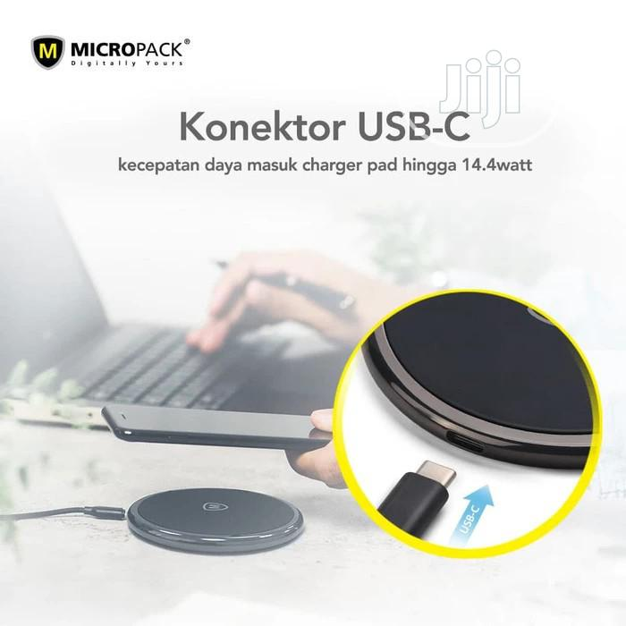 Micropack Wireless Charging Pad | Accessories for Mobile Phones & Tablets for sale in Lagos Island, Lagos State, Nigeria