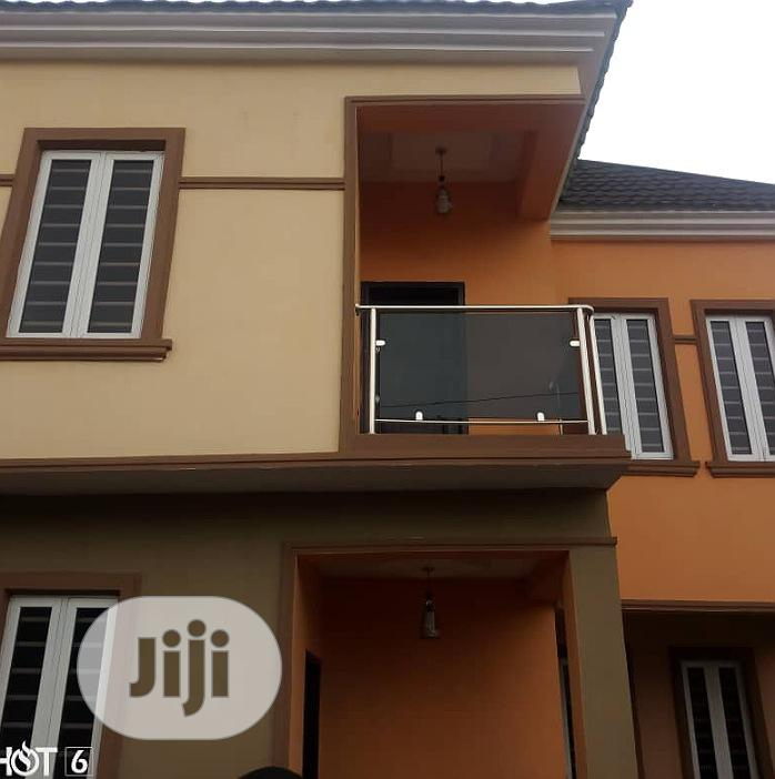Newly Built 5 Bedroom Duplex With 2 Room Bq For Sale