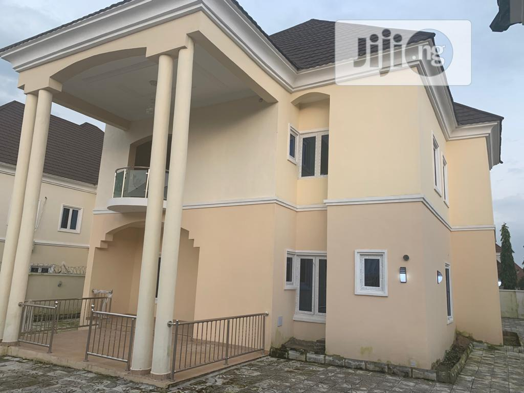 Magnificent 5 Bedroom Detached Duplex With Bq,On a Full Plot | Houses & Apartments For Sale for sale in Gwarinpa, Abuja (FCT) State, Nigeria