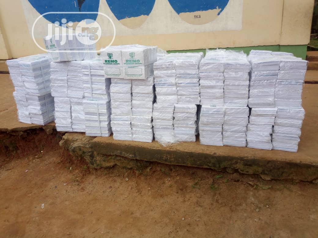 Notebook And Envelope | Books & Games for sale in Epe, Lagos State, Nigeria
