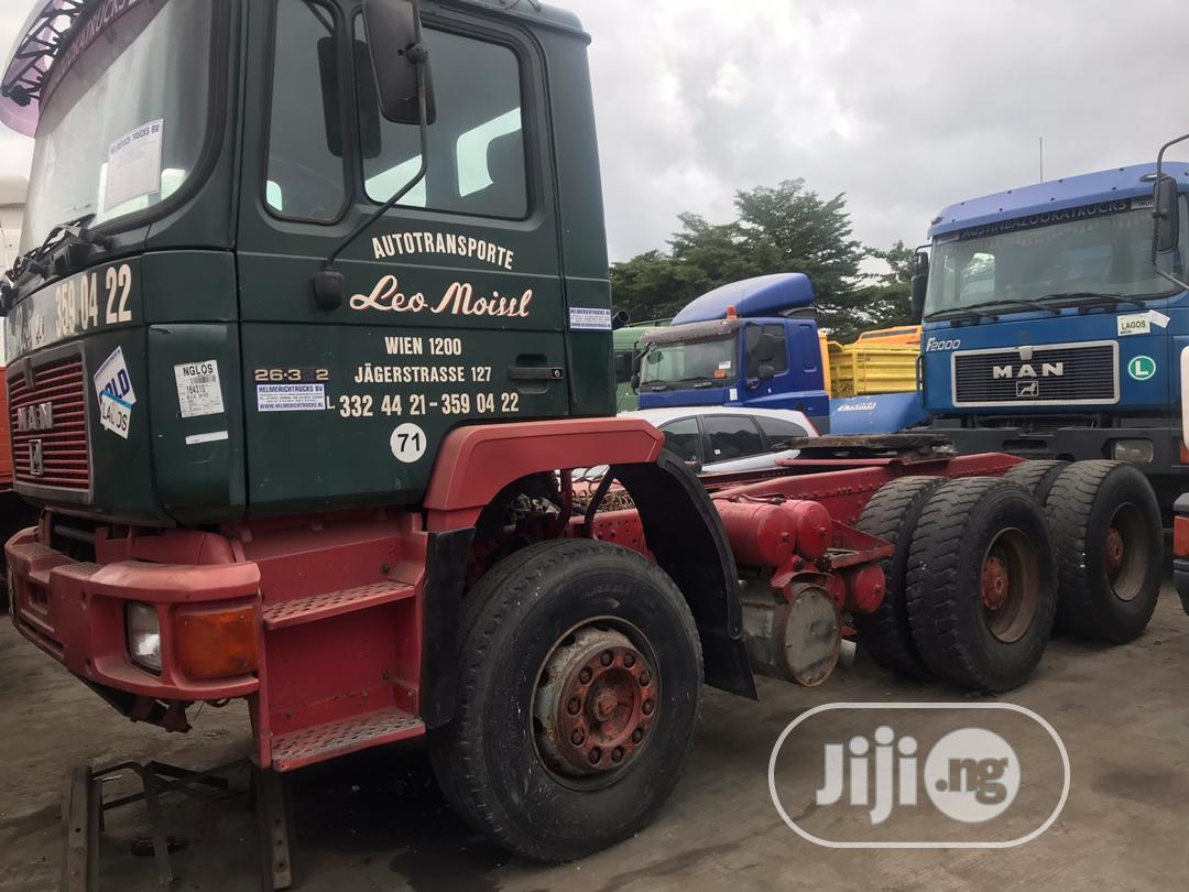 Man Truck 6x4 Tractor Head 1998 | Heavy Equipment for sale in Amuwo-Odofin, Lagos State, Nigeria