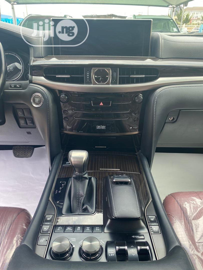 Lexus LX 2018 570 Three-Row Blue | Cars for sale in Lekki, Lagos State, Nigeria