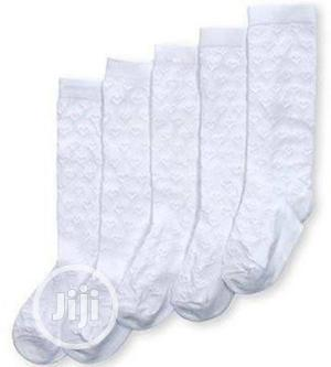 Girls School 5 Pack Knee High Socks | Children's Clothing for sale in Lagos State, Kosofe