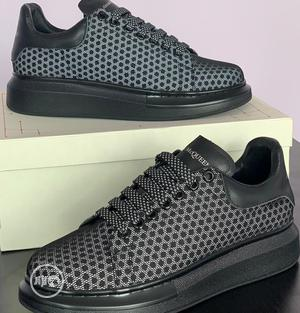"""Alexander McQueen """"Black Reflective"""" Sneakers 