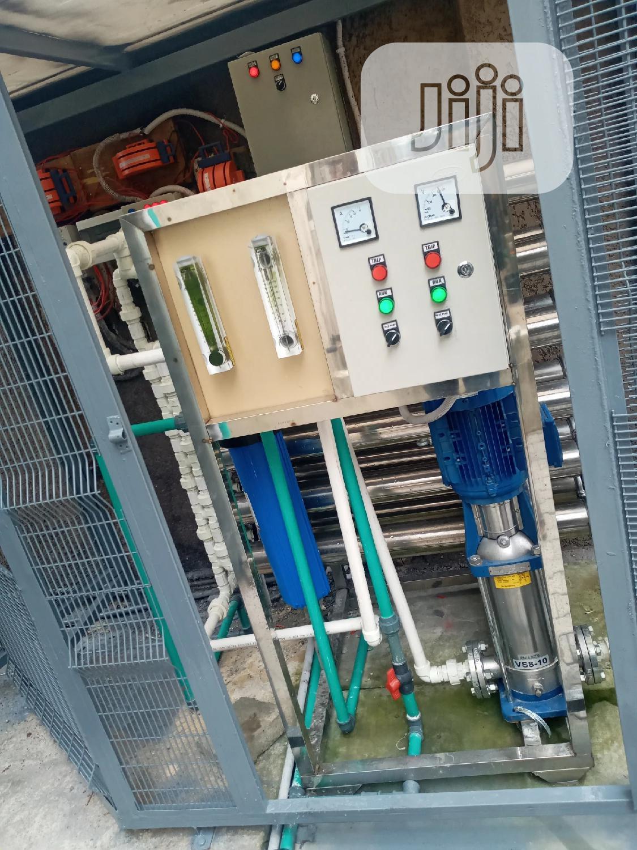 4 Membrane R O Water Treatment