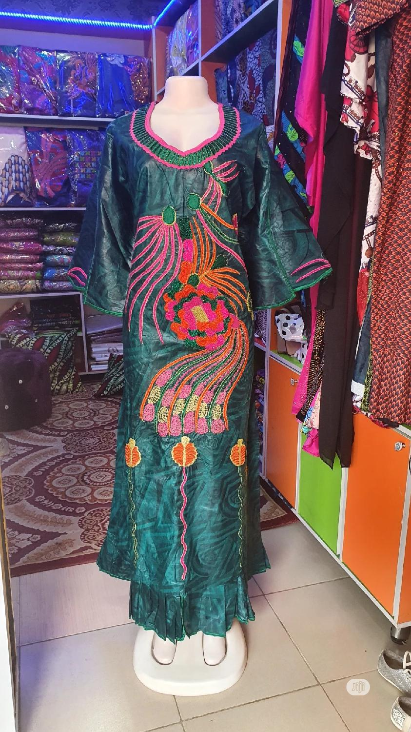 Archive: Beautiful Senegalese Galila Gown With Full Design Available