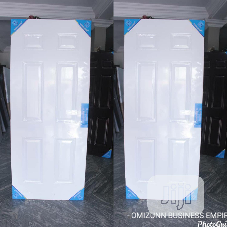 Original White American Steel Door | Doors for sale in Dei-Dei, Abuja (FCT) State, Nigeria