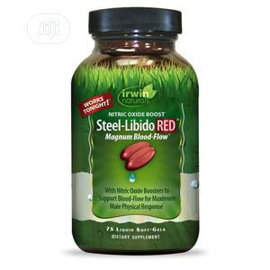 NITRIC OXIDE BOOST- Steel Libido Red Magnum Blood Flow | Sexual Wellness for sale in Lagos State, Apapa