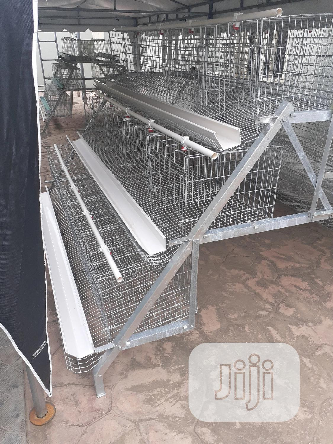 Premium Poultry Battery Cage Birds   Farm Machinery & Equipment for sale in Ibadan, Oyo State, Nigeria