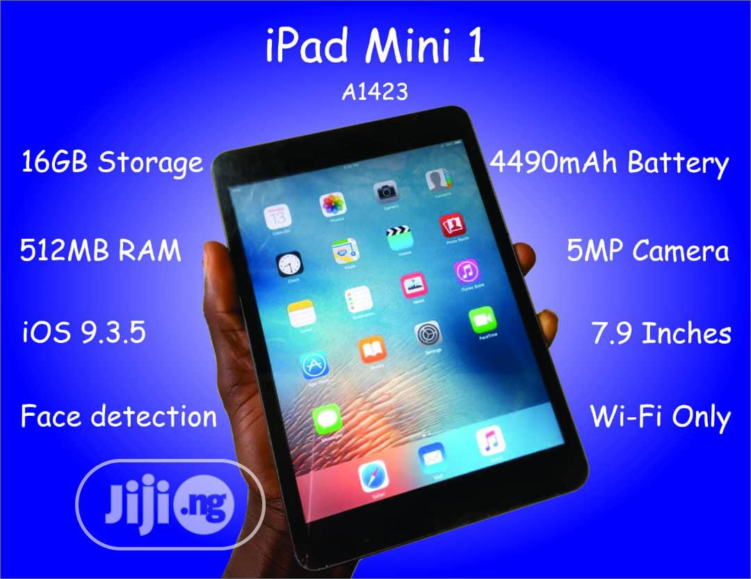 Apple iPad Mini Wi-Fi 16 GB Black | Tablets for sale in Benin City, Edo State, Nigeria