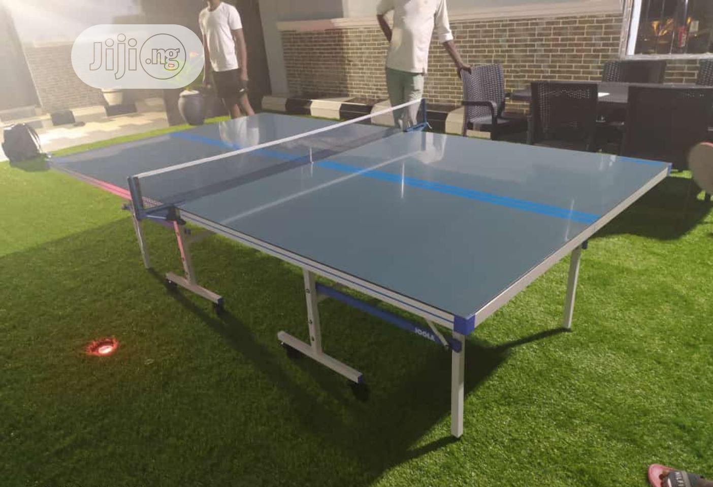 Standard Joola Outdoor Table Tennis Board With Accessories