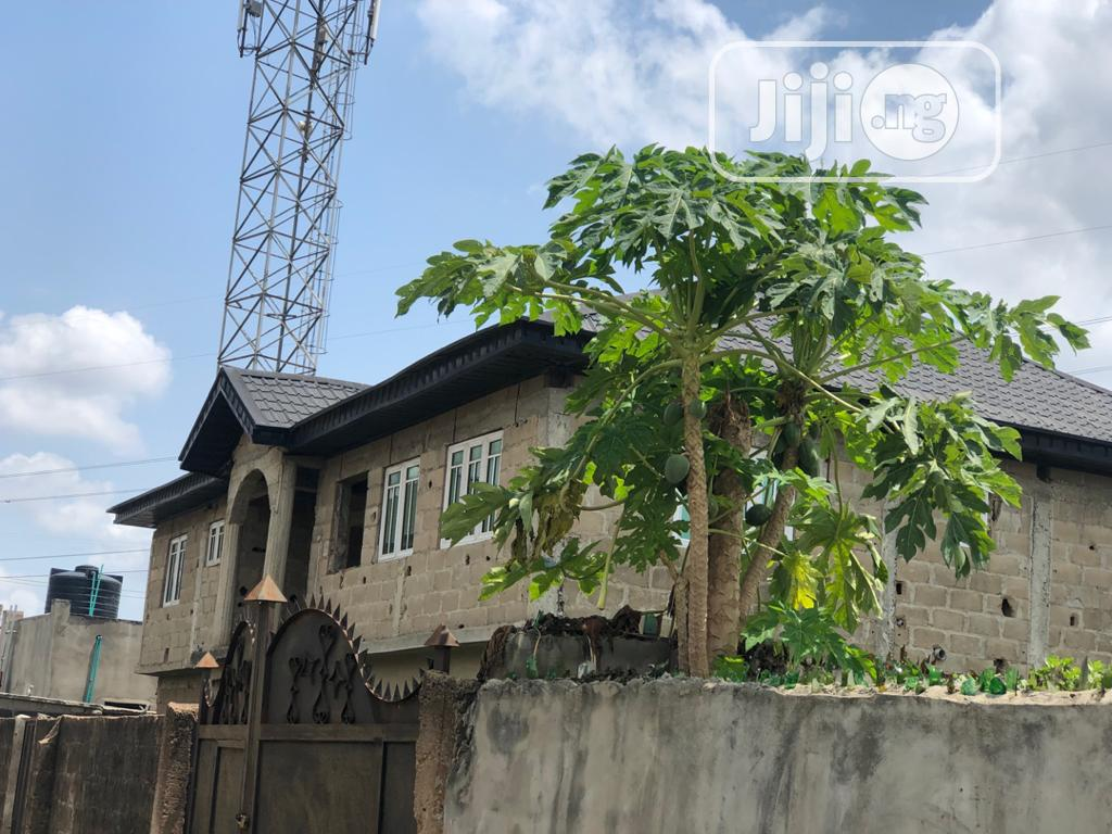 Uncompleted 4 Units 3 Bedroom Flats In Akute