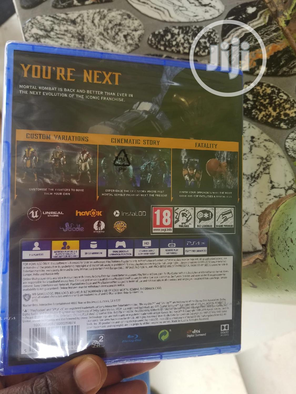 Ps4 Mortal Kombat 11 CD | Video Games for sale in Wuse, Abuja (FCT) State, Nigeria