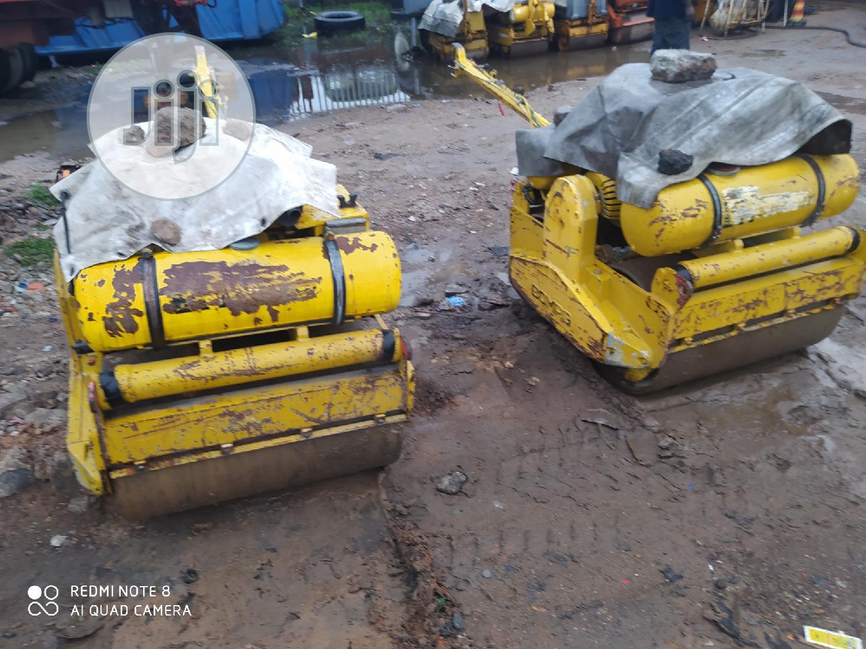 German Used 1300kg Walk Behind Double Drum Compactor Machine | Heavy Equipment for sale in Amuwo-Odofin, Lagos State, Nigeria