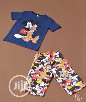 Boys 2 Piece Mickey Mouse Pluto the Pup | Children's Clothing for sale in Lagos State, Ojodu
