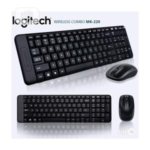 Logitech MK220 Wireless Keyboard/Mouse   Computer Accessories  for sale in Lagos State, Ikeja