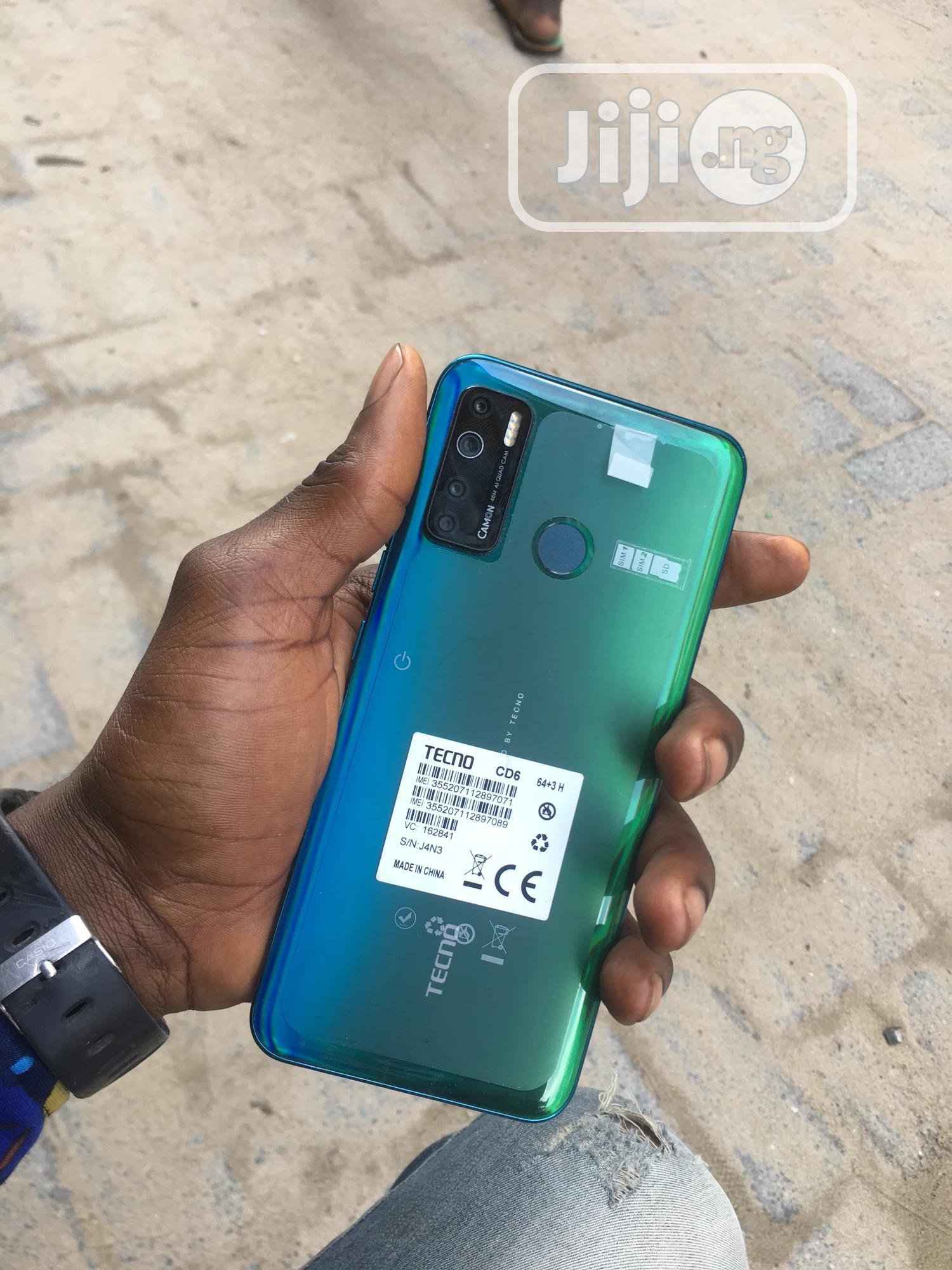 New Tecno Camon 15 64 GB Blue | Mobile Phones for sale in Ojo, Lagos State, Nigeria