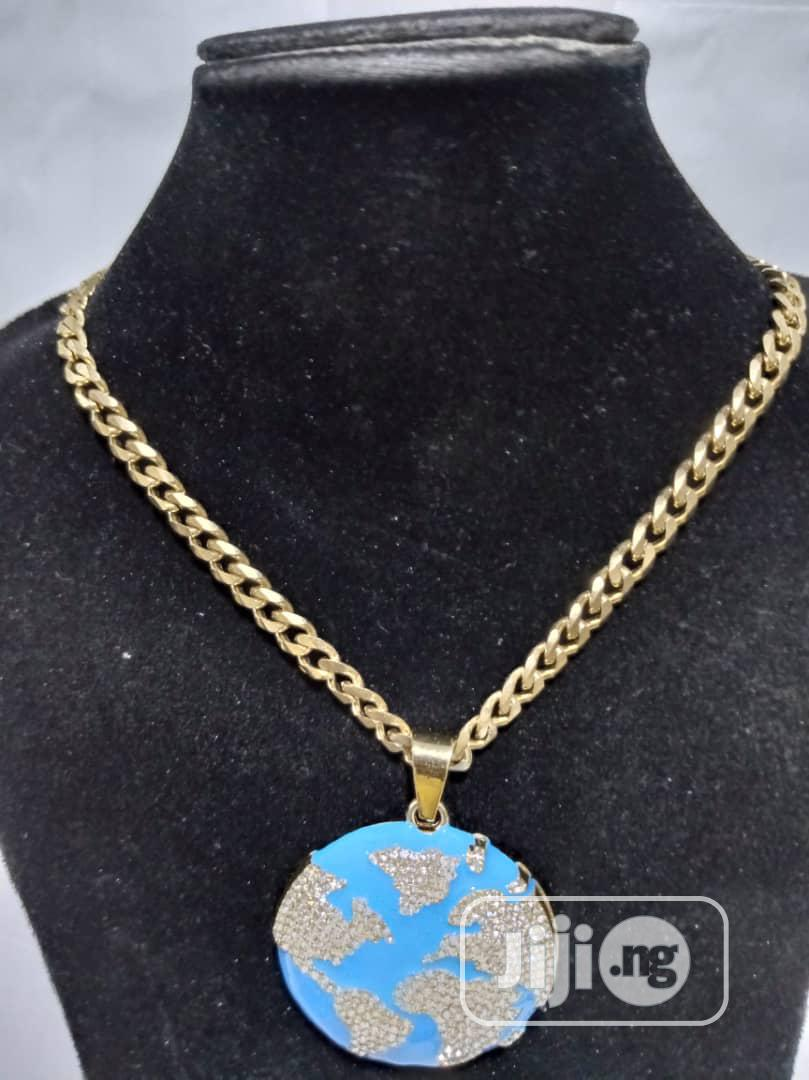 Cuban Chain and Pendant