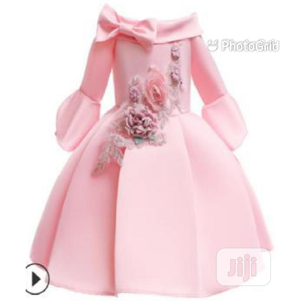 2020baby Girl Hot New Dress For Ages 1 To 8 Years Old | Children's Clothing for sale in Victoria Island, Lagos State, Nigeria