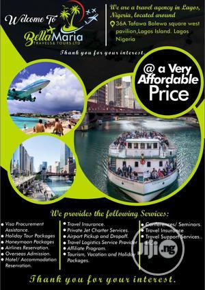Flight Tickets Tours Hotels, Flight Charter, Dubai Visa   Travel Agents & Tours for sale in Lagos State, Lagos Island (Eko)