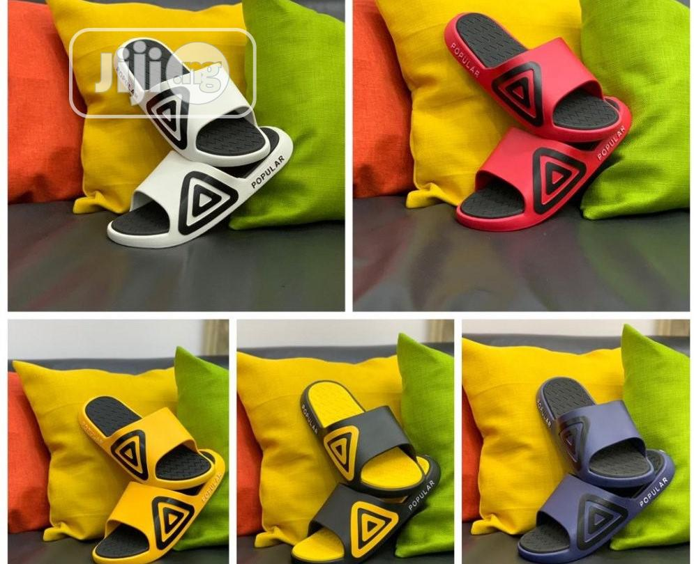 Popular Slippers - Adidas D111 | Shoes for sale in Alimosho, Lagos State, Nigeria