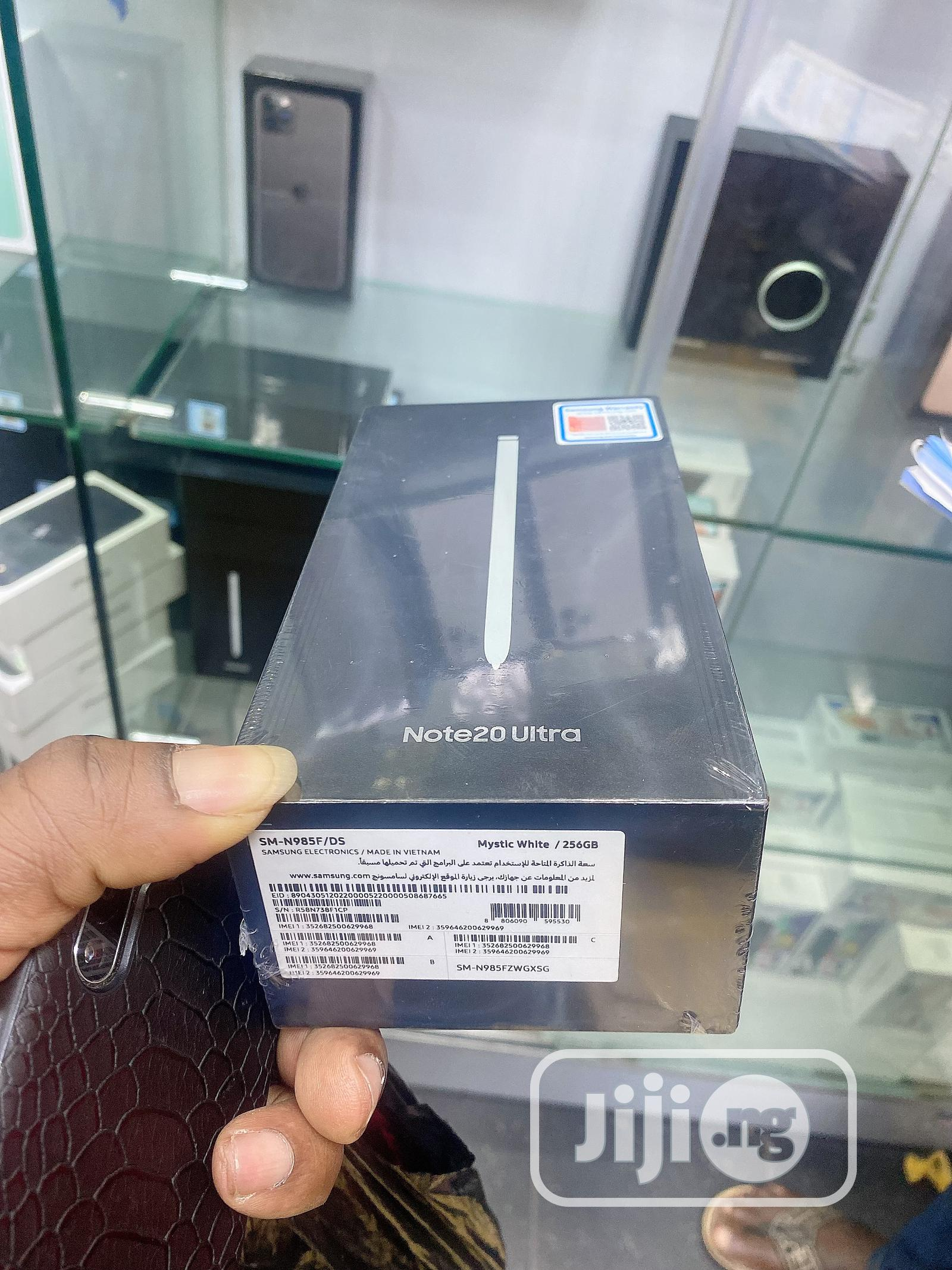 New Samsung Galaxy Note 20 Ultra 256 GB White | Mobile Phones for sale in Ikeja, Lagos State, Nigeria