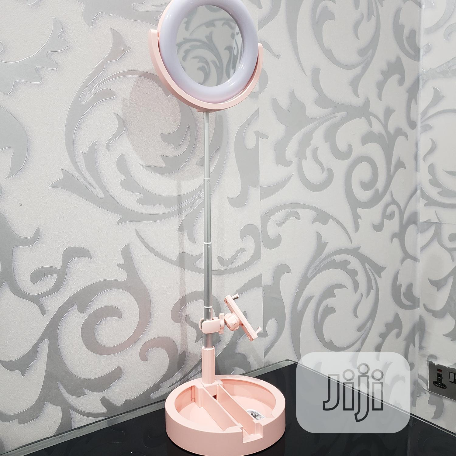 Ringlight Makeup Mirror With Led Light Wire Control | Accessories & Supplies for Electronics for sale in Ikeja, Lagos State, Nigeria