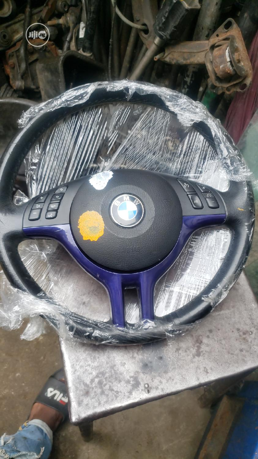 Bmw E46 Steering Wheel And Front Grille In Mushin Vehicle Parts Accessories Ache Ebuka Jiji Ng