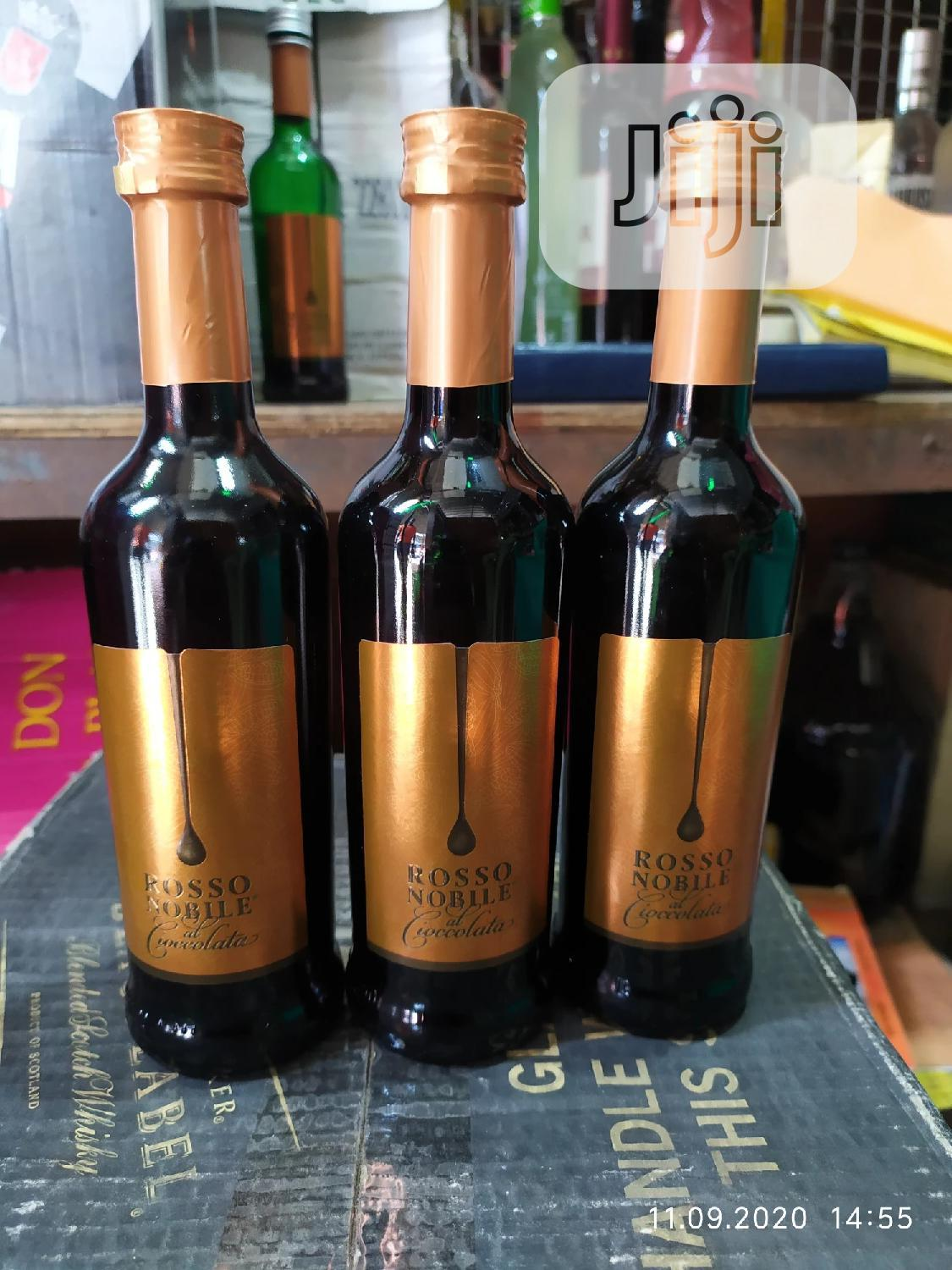 Rosso Noblle Small Bottle Of Red Wine By 24