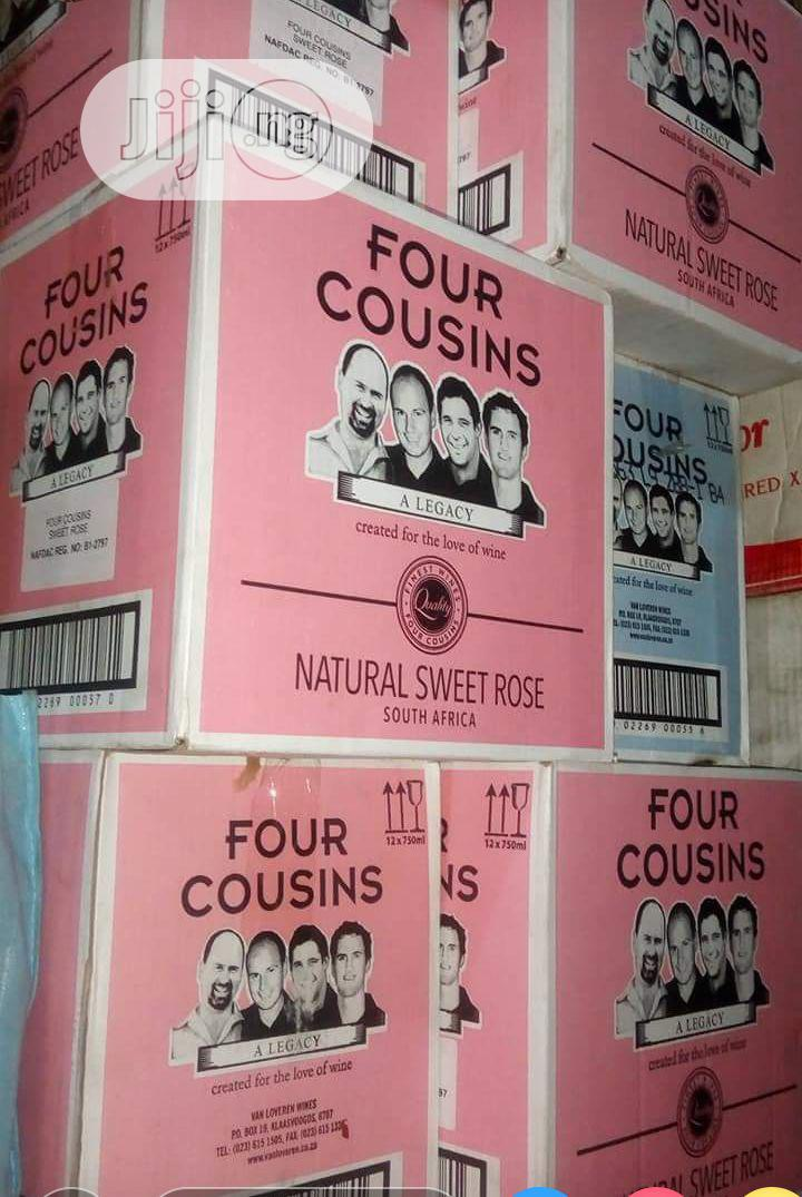 Four Cousins Sweet Red Wine