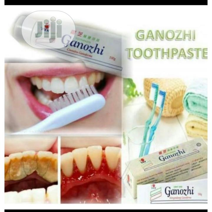 DXN Mushroom Toothpaste for Plaques Removal From the Teeth