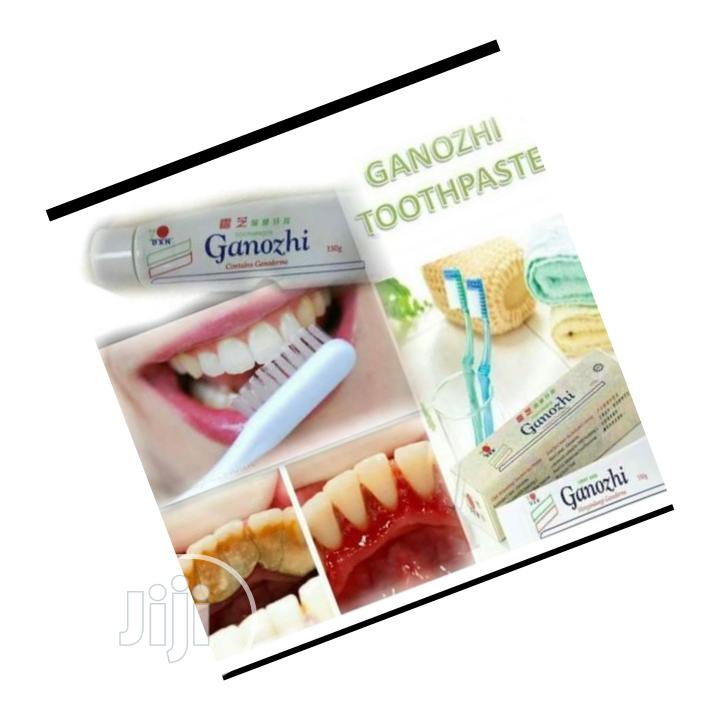 DXN Mushroom Toothpaste for Plaques Removal From the Teeth | Bath & Body for sale in Ikeja, Lagos State, Nigeria