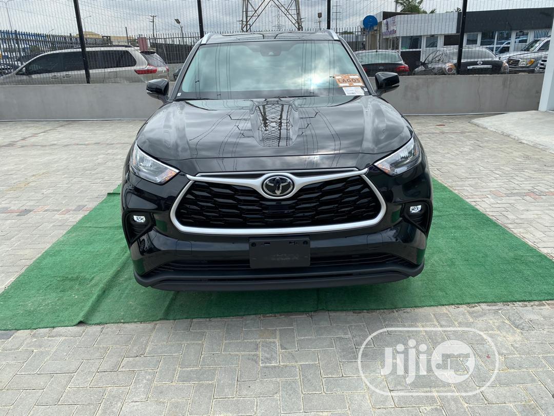 Toyota Highlander 2020 Black