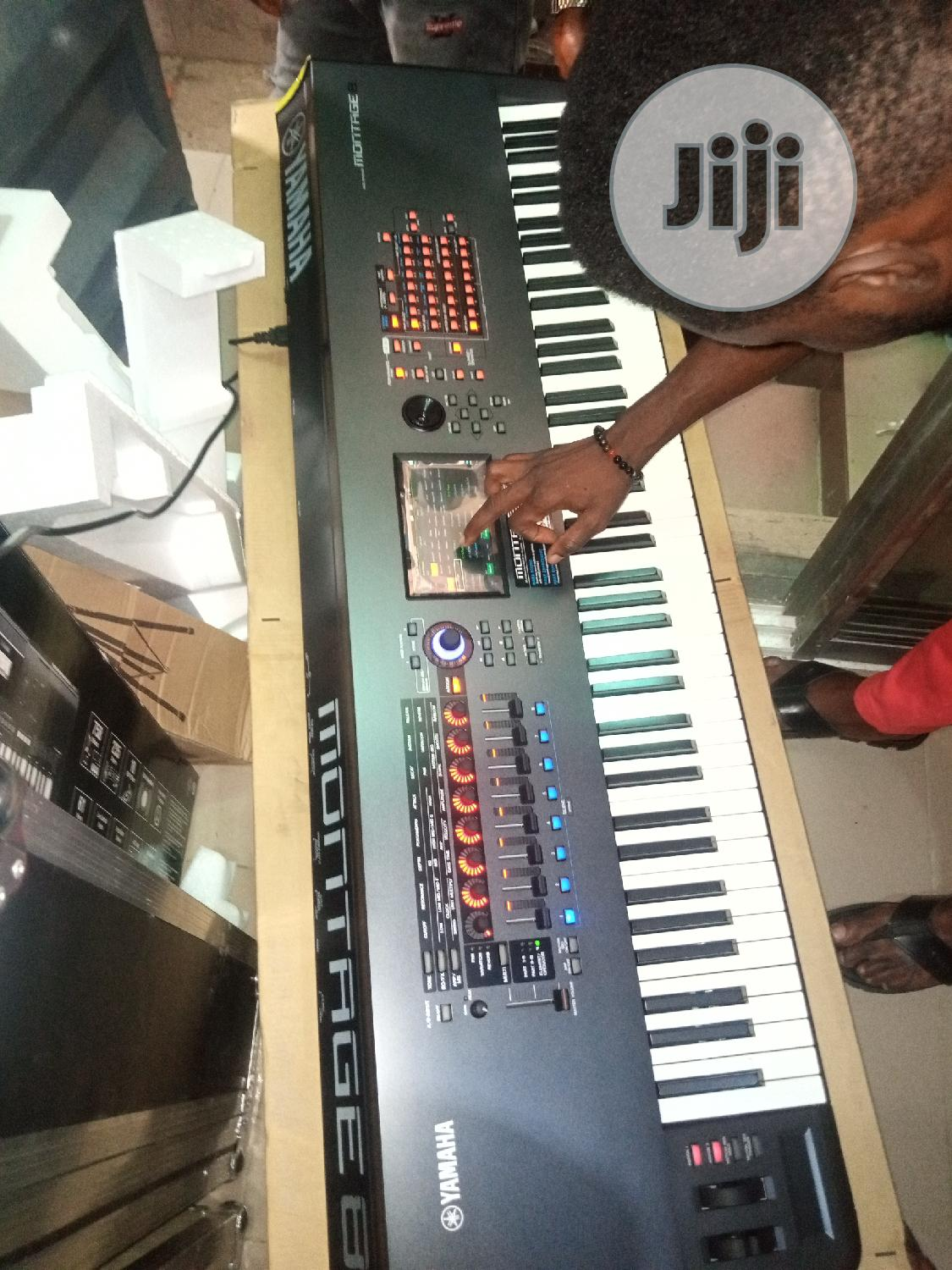 Yamaha Montage 8 Keyboard   Musical Instruments & Gear for sale in Ojo, Lagos State, Nigeria
