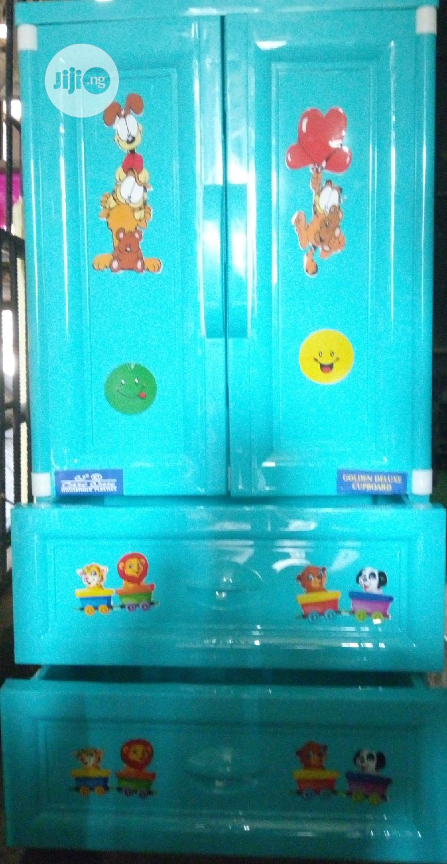 Baby Plastic/ Rubber Wardrobe/Cabinet | Children's Furniture for sale in Lagos Island (Eko), Lagos State, Nigeria