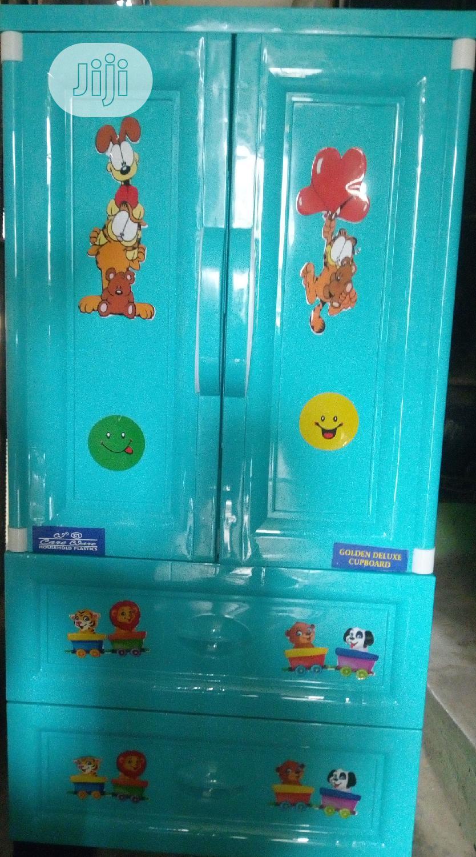 Baby Plastic/ Rubber Wardrobe/Cabinet