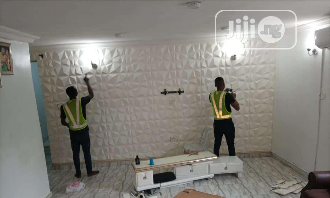 We Sell And Install Wallpapers, 3D Wall Panels, 8D Etc | Building & Trades Services for sale in Lugbe District, Abuja (FCT) State, Nigeria