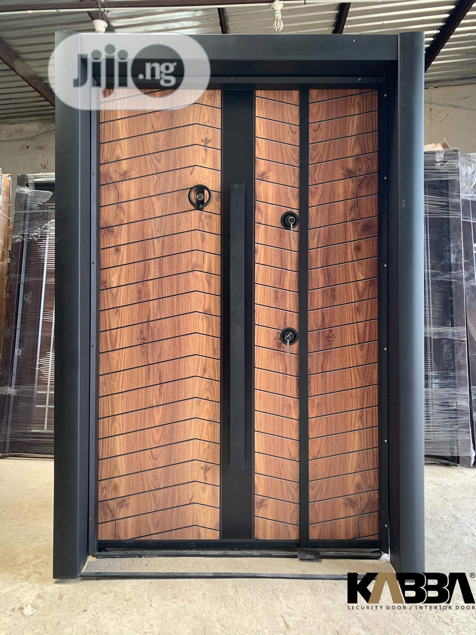 Turkish Double Security Door