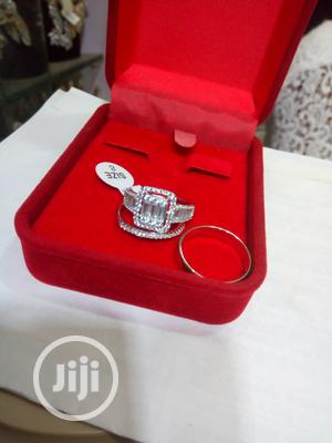 Dubai 925 Sterling Silver Couple's Wedding Ring 08 | Wedding Wear & Accessories for sale in Lagos State, Ikeja