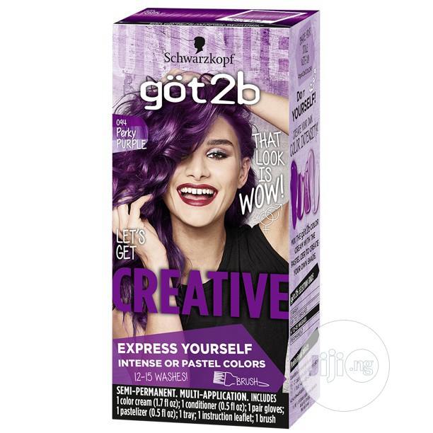 Schwarzkopf Got2b Semi-permanent Hair Dye