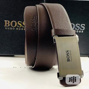 High Quality Hugo Boss Belt   Clothing Accessories for sale in Lagos State, Magodo