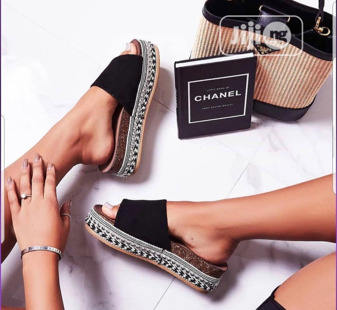 Archive: Chanel Inspired Slippers