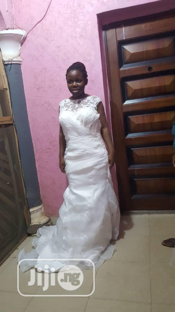 White Wedding Gown