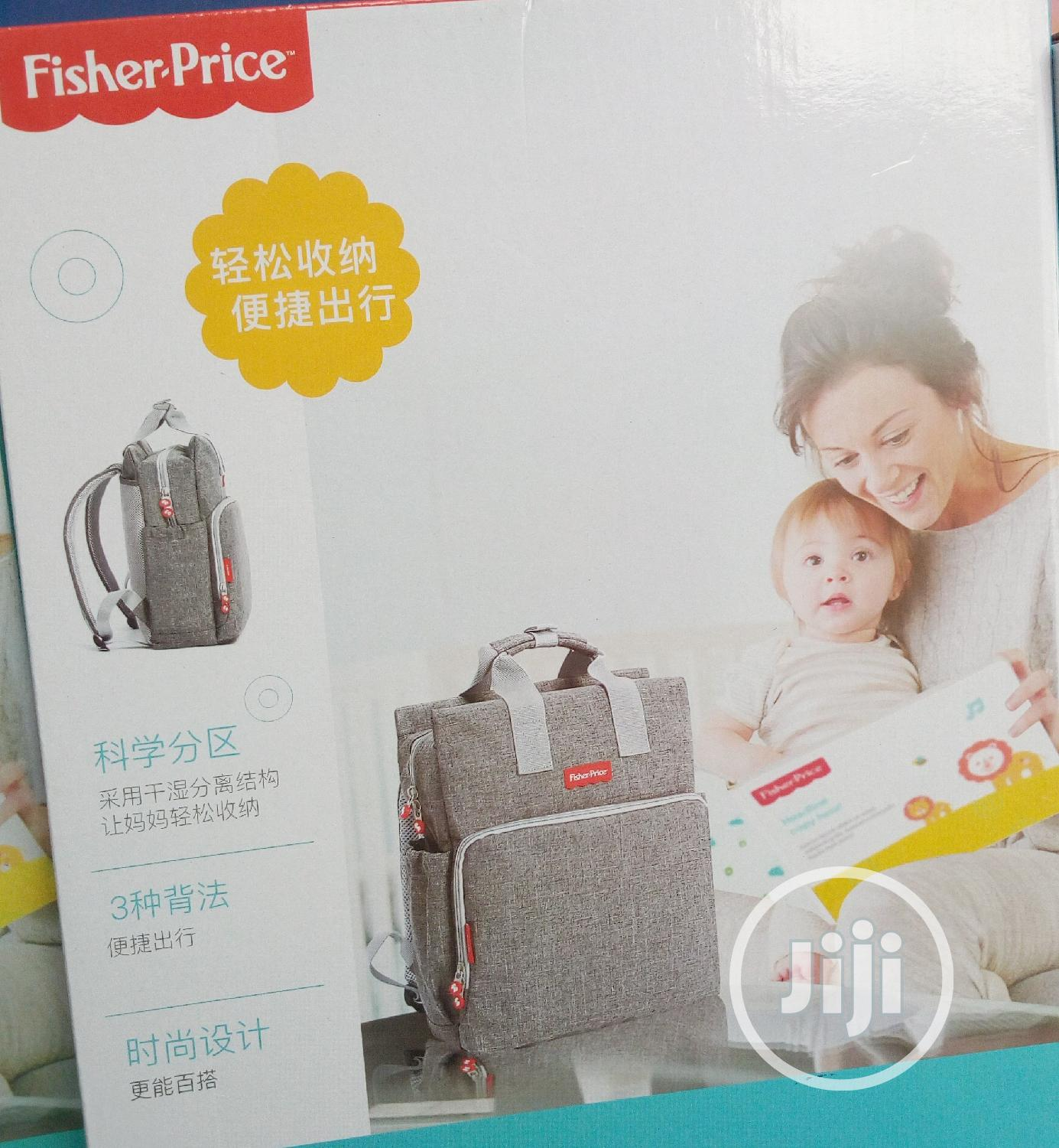 Fisher Price Multi-Function Mum- Back Pack Diapers Bag | Baby & Child Care for sale in Lagos Island (Eko), Lagos State, Nigeria