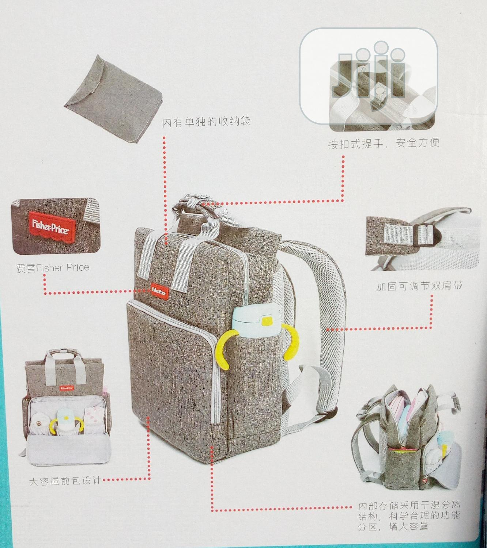Fisher Price Multi-Function Mum- Back Pack Diapers Bag