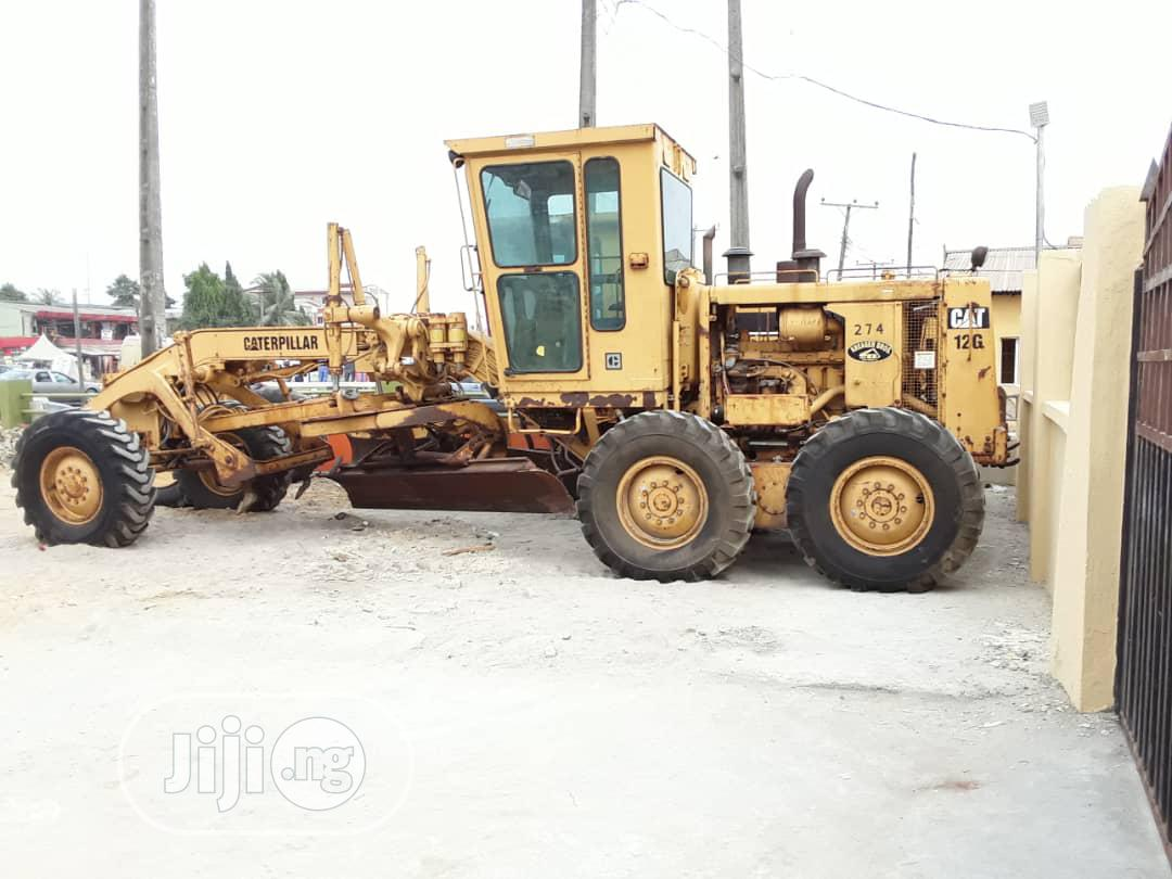 Archive: Tokunbo Cat 12G GRADER For Saleb